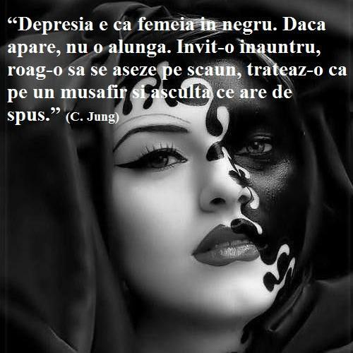 DEPRESIA – STRIGATUL DE AJUTOR AL OAMENILOR CARE UITA DE SINE